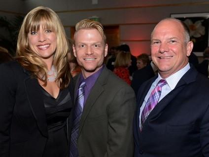 Tamera Gaede, David Lee, and Jeff Updike (Photo: Matthew Shelley)