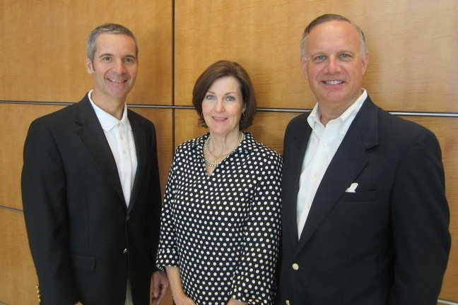 Bud Bush, Gaynelle Henger, and Dave Perry-Miller