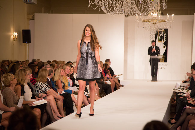 McKamy Tiner walks the runway during the 2013 edition of the KidneyTexas Luncheon and Style Show. This year's edition is scheduled for Sept. 23 at Brook Hollow Golf Club. (Photo by Dana Driensky)