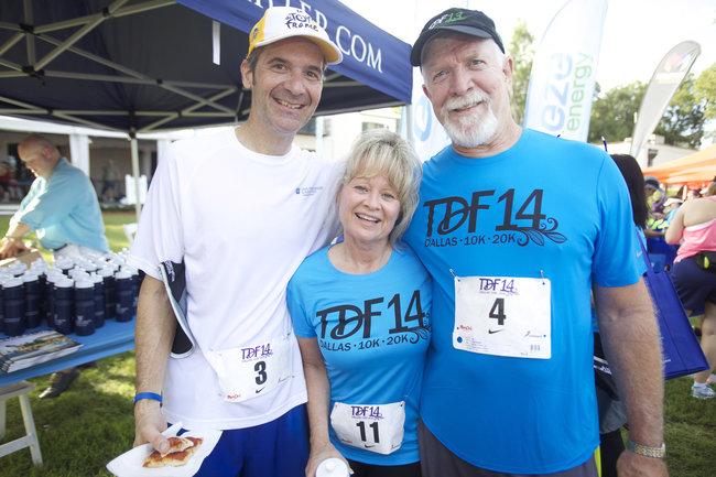 Bud Bush, Loryn LaMonte, and Bob Ernst