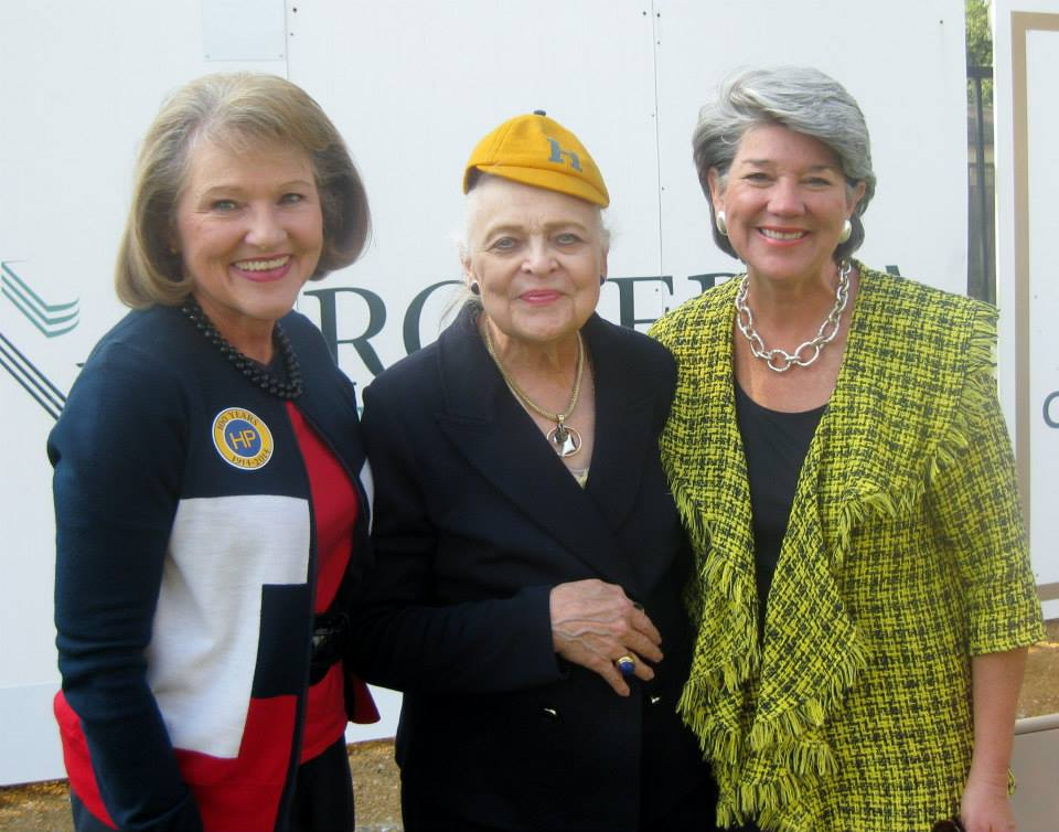Former Highland Park ISD  Superintendent Cathy Bryce, Ebby Halliday Companies CEO Mary Frances Burleson, and Leslie Melson, president of the Highland Park ISD Board of Trustees