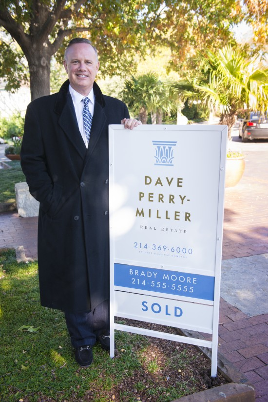 Dave Perry-Miller Real Estate Sign