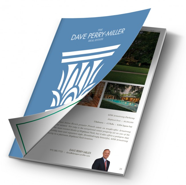 Dave Perry-Miller Fine Home Collection Magazine, Spring 2016 - Homes for Sale in Dallas