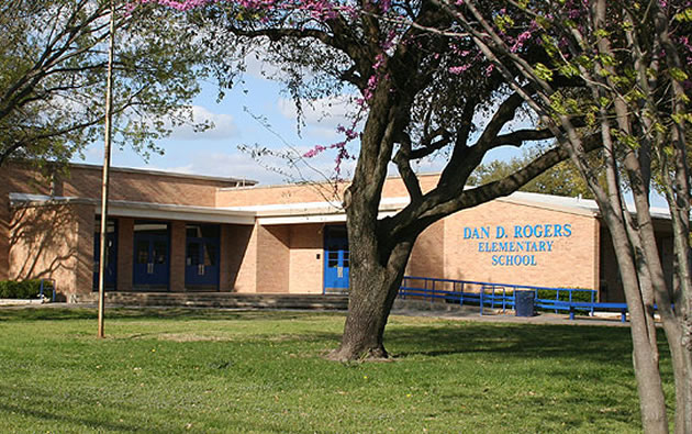 Dan D. Rogers, an East Dallas elementary school at 5314 Abrams Road, is a DISD Choice School