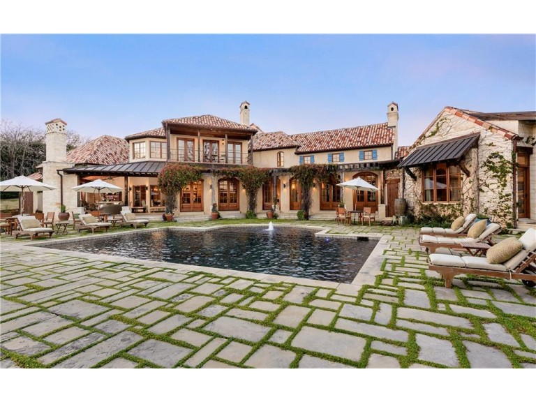 2252 King Fisher Drive is offered by J.L. Forke and Jennifer Shindler of Dave Perry-Miller Real Estate for $5,750,000.