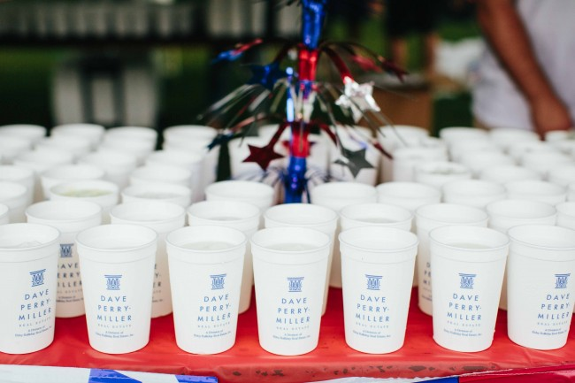 Dave Perry-Miller Real Estate hosts its annual Lemonade Stand at the 2016 Park Cities Fourth of July Parade