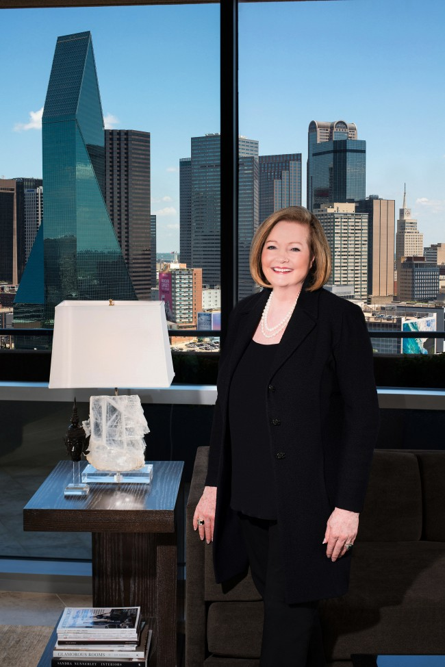 Dave Perry-Miller Real Estate Agent Sharon Quist leads her peers in sales volume at both the The Residences at The Ritz-Carlton Dallas and in Area 17 (Downtown, Uptown, Oak Lawn/Turtle Creek)
