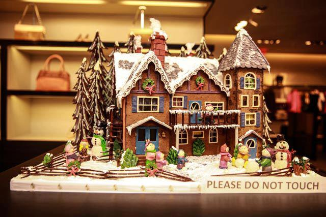 Dave Perry-Miller Real Estate Agent Christine McKenny started the annual Gingerbread Stroll to raise funds for area children's charities.