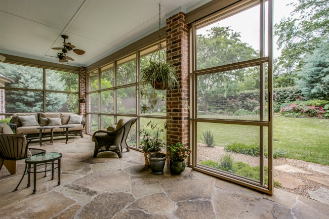 11134 Lawnhaven, listed by Karen Fry of Dave Perry-Miller Real Estate, boasts gorgeous entertaining spaces, inside and out.