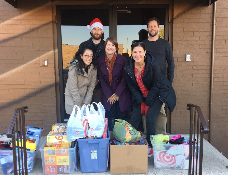 Agents help bring holidays to CitySquare