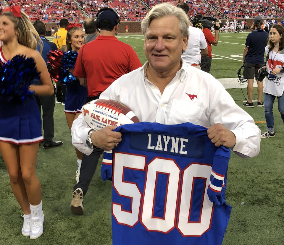 Paul Layne's 500 Games of SMU Football