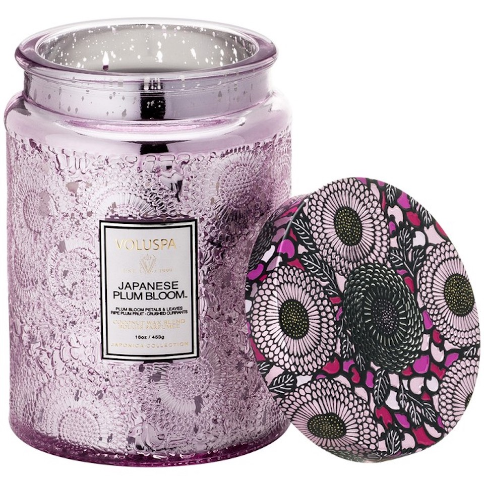 plum bloom candle