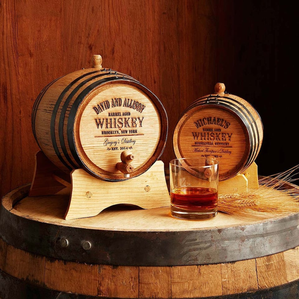 Personalized-Whiskey-Barrel